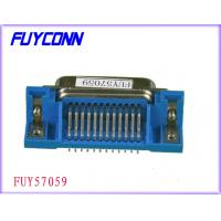 Buy cheap PCB Right Angle Female Printer Connectors, 36 Pin Centronic IEEE 1284 printer Connector Certified UL from Wholesalers