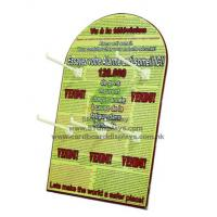 Buy cheap OEM / ODM custom design foam board paper standee display with glossing / laminating from Wholesalers