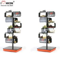 Buy cheap Freestanding Shoes Store Retail Supplies Metal Store Display Fixtures from wholesalers