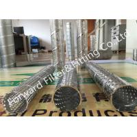 Quality Specializing in the production of stainless steel punching pipe silencer punching pipe metal spiral tube wholesale