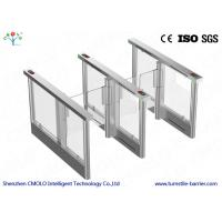 Buy cheap Electrical Security Flap Gate Turnstile Entrance With Ir Sensors from Wholesalers