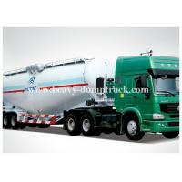 China China V shape bulk cement tanker trailer with 30 to 68m3 tank volume CCC ISO BV SGS certification on sale