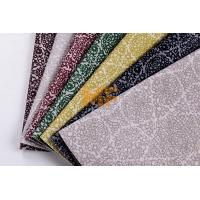 100% Polyester Dyeing Modern Upholstery Fabrics For Home Furniture Most Durable