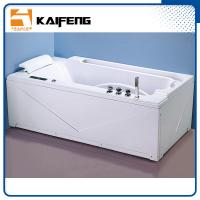 Buy cheap Apron Front Rectangular Home Jacuzzi Bathtub , Jacuzzi Jetted Bathtubs Comfortable from Wholesalers