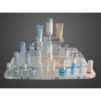 Buy cheap Eco Friendly Customize Acrylic Makeup Case Organizer Blue Mirror Protection from Wholesalers