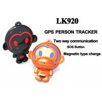 Buy cheap LKGPS@ Mini hidden gps tracker for kids golf gps tracker with Two-way Communication --LK920 from Wholesalers