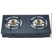 Buy cheap 2 burners tempered glass panel and stainless steel housing/table type gas stove WTG2001 from Wholesalers