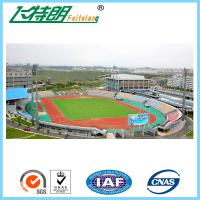Full PU Glue Rubber Running Track Plus SBR Particle Mixture For Playground