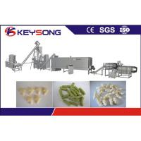 Automatic Fried Kurkure Manufacturing Machine , Big Capacity Kurkure Extruder Machine