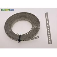 Buy cheap Perforated Metal Fixing Band 10m Galvanized Steel With Color Powder Coated from Wholesalers