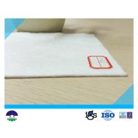 350G  PET White Filament Nonwoven Geotextile Fabric  with Water Permeability
