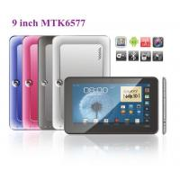 "Buy cheap 9"" Build in 3G +GPS+BT tablet PC, MTK6577 Dual core metal case, 512MB, 4GB, dual camera from Wholesalers"