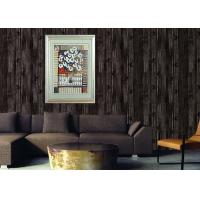 Buy cheap Retro Wood 3D Home Wallpaper Household 0.53*10m / roll , Non - pasted from wholesalers