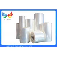 Buy cheap 35 Mic Clear Soft Pvc Shrink Film Rolls, Heat Shrink Wrap Film With Blow Molding from Wholesalers