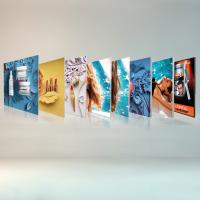 Quality Free Standing Seg Photo Fabric Picture Frames Display For Exhibition Shopping Mall wholesale