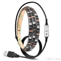 Buy cheap USB RGB/Warm/Cool White SMD 5050 LED Strip Light Waterproof String Lamp 2m/1m/0.5m from wholesalers