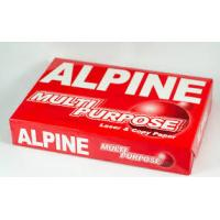 Buy cheap Alpine A4 Copy Paper 80gsm,75gsm,70gsm from wholesalers