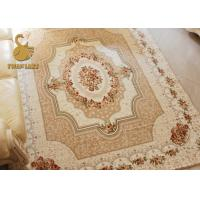 Custom Design Persian Floor Rugs Anti Slip 100% Polyester Material
