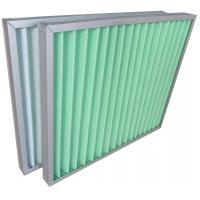 Buy cheap Filteration System Panel Type Aluminum Frame Air Conditioner Air Filters G3 G4 from Wholesalers