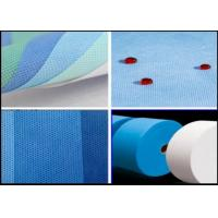 Buy cheap SMS Polypropylene Medical White And Blue 3.2m Composite Non Woven Fabric from wholesalers