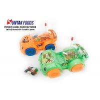Buy cheap Green Orange Light Car Toy With Colorful Jelly Bean Candy For Little Boy from wholesalers