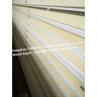 Buy cheap 150mm 200mm PU Sandwich Panels / Freezer Room Panel With Camlock Joint from Wholesalers