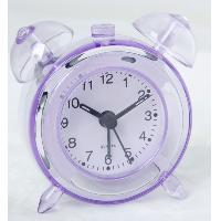 Buy cheap ET206 crystal table clock of twin bell clock from wholesalers