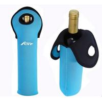 Buy cheap 5mm custom printing neoprene wine cooler from Wholesalers