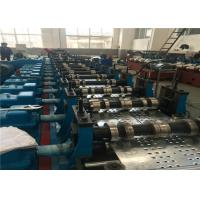 China Auto Decoiler Sheet Forming Machine 12-15m/min Rolling Speed Gear Box Driver on sale