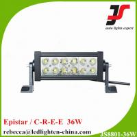 Buy cheap 4x4 led light bar 7.5'' 36w double row offroad led light bar for trucks Atv SUV from Wholesalers