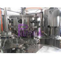 China PLC Control 3 in 1 Carbonated Drink Filling Machine for PET Bottles on sale