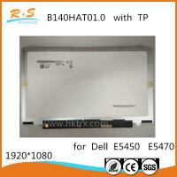 Quality 14 Inch 1080P Laptop LCD Screen / TFT LCD Touch Screen AUO B140HAT01.0 B156HAT01.0 wholesale