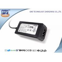 Buy cheap 24W Desktop Switching Power Supply Black Color 15V With AC / DC Cable from Wholesalers