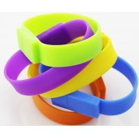 Buy cheap Wristband USB Flash Drives , 2GB / 4GB / 8GB Wrist Strap USB 2.0 Flash Disk from Wholesalers