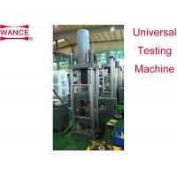 China Large Capacity Servo Hydraulic Wire Tensile Testing Machine Of Concrete Single Zone on sale