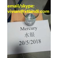 Quality hydrargyrum mercury cas7439-97-6 purity 99.999% for South Africa silver liquid for sale