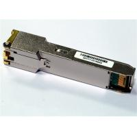 Buy cheap 1000Base-T Only SFP Copper Transceiver , with 1Gbps SerDes interface Industrial Temp from wholesalers