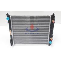 Buy cheap 2011 nissan sunny radiator , custom aluminum car radiators with 16mm thickness from Wholesalers