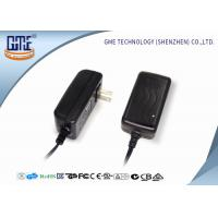Buy cheap EN60065 AV Wall Mount Power Adapter 5V 4A , AC DC Switching power adapter from wholesalers