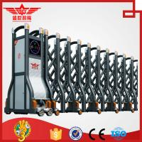 Auto extending gate electric retractable sliding doors with remote control L1520