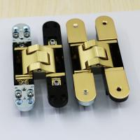 Buy cheap Zamak Gold Color Hinge from Wholesalers