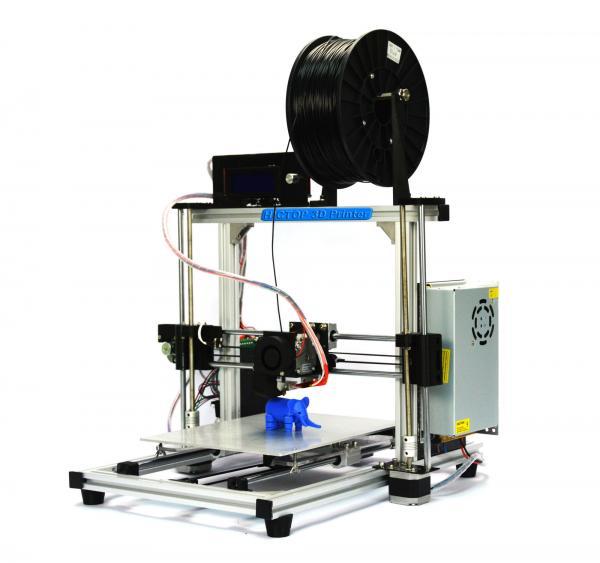 Quality White ABS PLA Filament Desktop 3D Printer With Aluminum Frame for sale