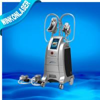 Buy cheap Cryolipolysis 4 handles Powerful Cooling body shape fat reduction machine from Wholesalers