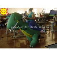 Quality Large Halloween Nylon Adult Inflatable Dinosaur Costume For Party Game wholesale