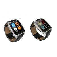 Buy cheap Black / Gold / Silver BT 4.0 Bluetooth Smartphone Watch With 200mAh Lithium Polymer Battery from Wholesalers