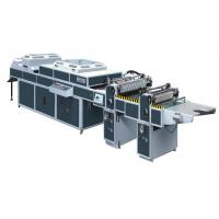 Buy cheap UV Thick / Thin Paper Threerollers Uv Coating Equipment Automatic Two Coaters SDSG-1200C from wholesalers
