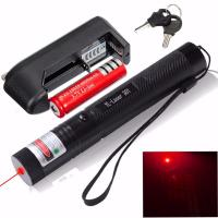 Quality 301 Adjustable 650nm Laser Pointer Pen Focuing Red Laser Pen 18650 Battery wholesale