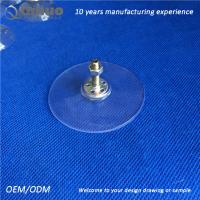Buy cheap 52mm heavy duty industrial plastic suction cups 8MM Length M4 screw from wholesalers