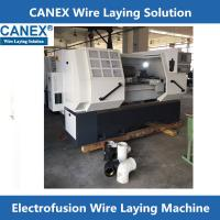 China poly electrofusion fitting wire laying machine on sale