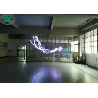 Buy cheap SMD2121 G10.4 Indoor Transparent Led Screen Full Color Long Lifespan from Wholesalers